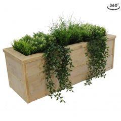 Oud steigerhout plantenbak 120x40x40