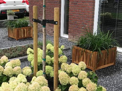 Steigerhouten plantenbak 80x80x80cm
