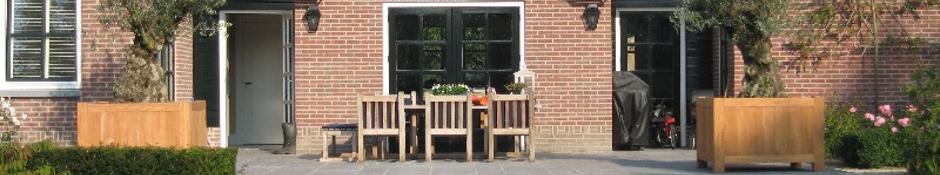 Wat is het verschil tussen de verschillende houtsoorten van de houten plantenbakken