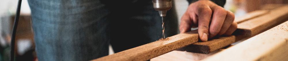 Maak je eigen houten plantenbak